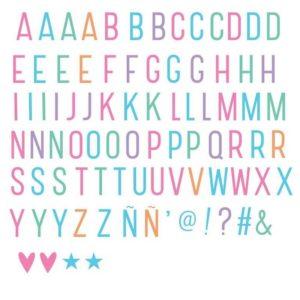 set-de-letras-en-pastel-para-el-lighbox