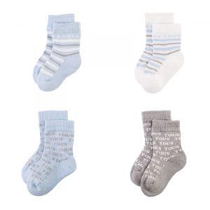 set calcetines celeste 1