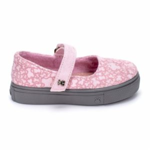 merceditas de niña rosa
