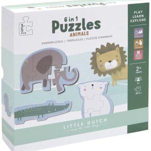 PUZZLE ANIMALS - LITTLE DUTCH