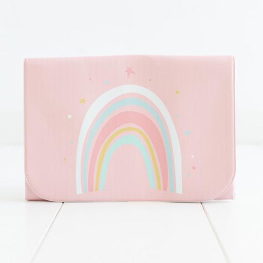 Cambiador plegable arcoíris